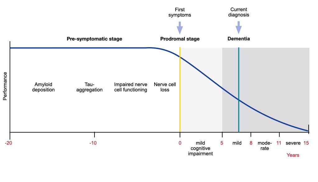 evolution of brain pathology