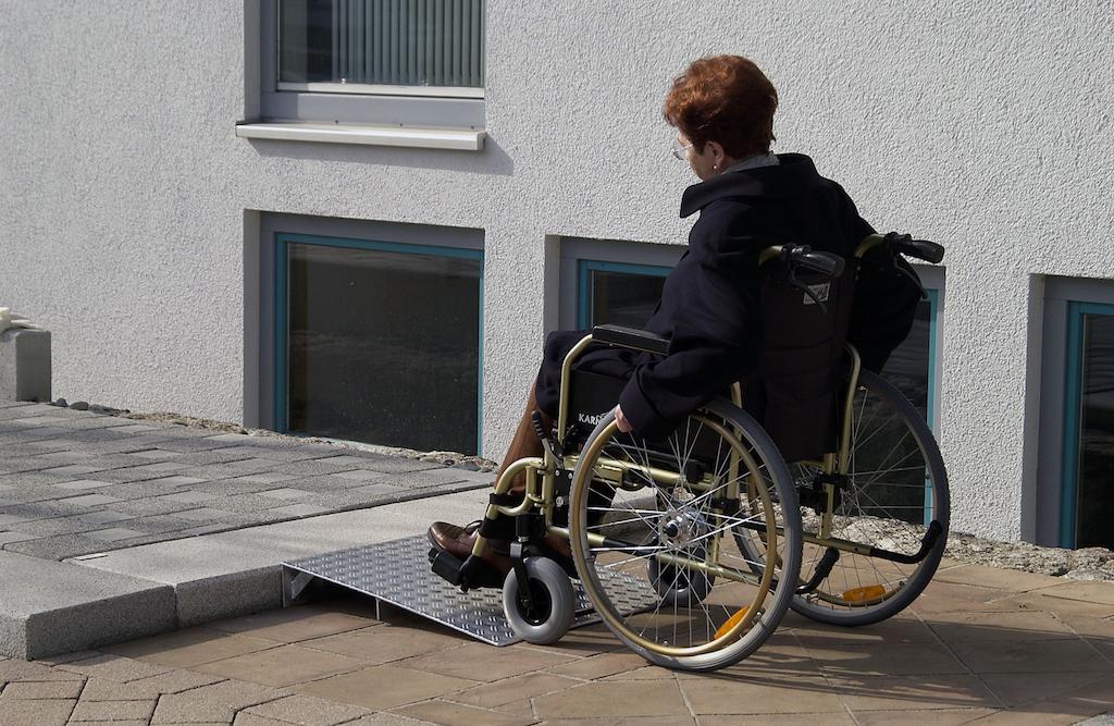 wheelchair entryway