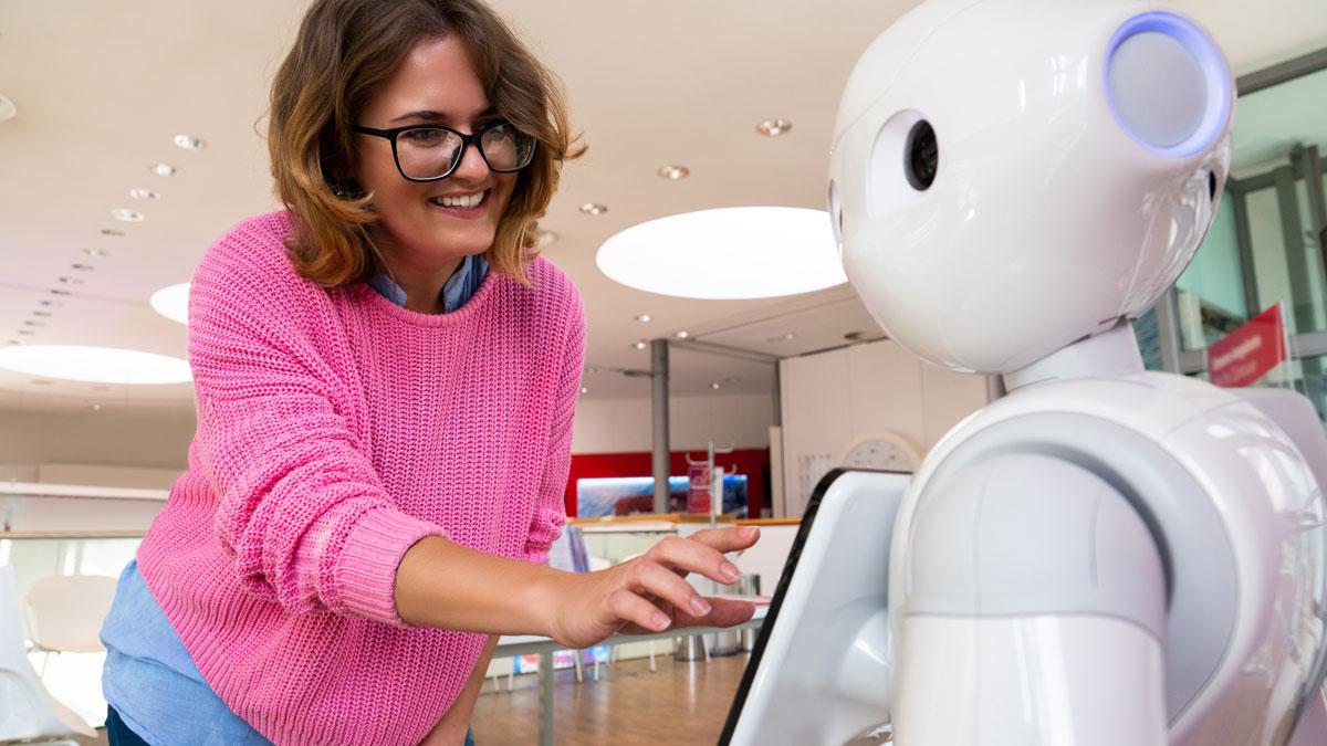 photo of a roboter